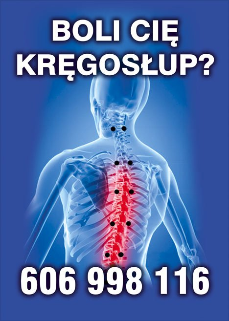 gabinet terapii rwy kulszowej i dyskopatii kręgosłupa